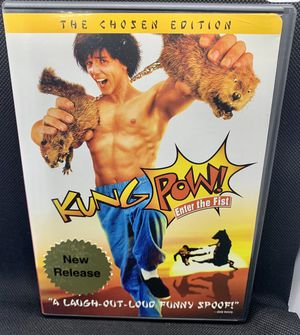 KUNG POW! Enter the Fist DVD Steve Oedekerk Rare HTF OOP for Sale in Puyallup, WA