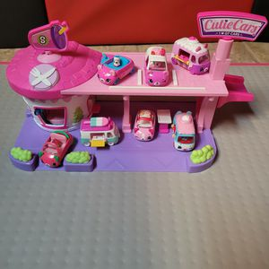Shopkins cutie cars drive thru diner with 7 Cutie Cars for Sale in Houston, TX