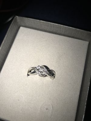 Zales Ring Brand New Size 7 - 8 for Sale in Tallahassee, FL
