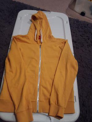 H&M mustard yellow zip up hoodie for Sale in Bremerton, WA