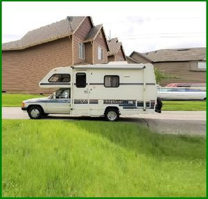 URGENT I sell my rv 1989 Toyota Itasca rv Super cute and clean in and out . for Sale in Cypress, CA