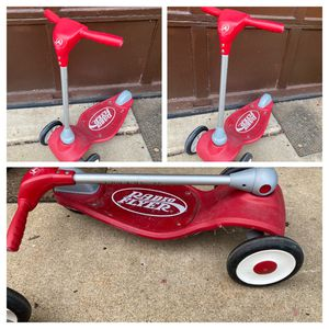 Radio Flyer Scooter, folding $12 each for Sale in Prospect Heights, IL