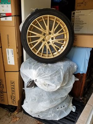 KMC gold rims for Sale in West Haven, CT