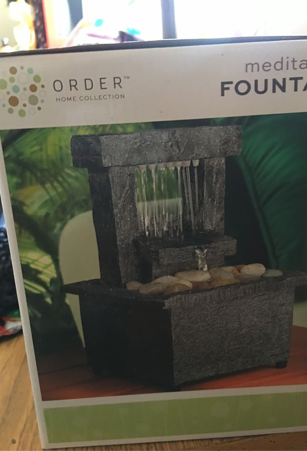 Meditation fountain
