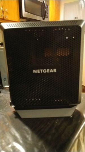 Netgear router plus modem all in one for Sale in Chicago, IL