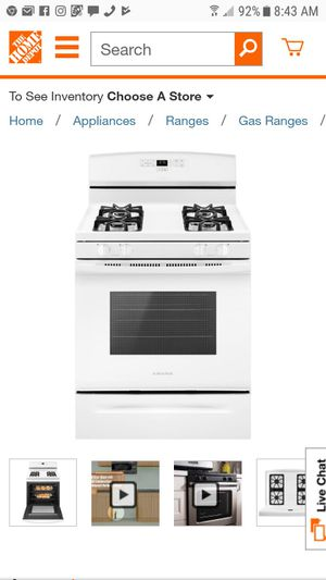 Brand new Never been used gas stove for Sale in Detroit, MI
