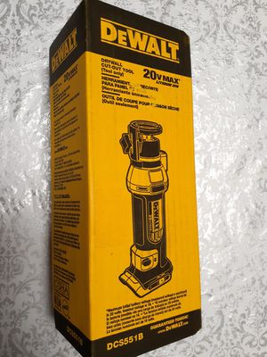 Dewalt 20V MAX Drywall Cut-Out Tool ~New~ for Sale in Kent, WA