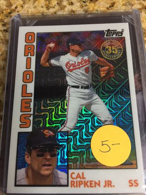 Baseball cards , Cal Ripken Inserts $17 for Sale in Rolling Hills Estates, CA
