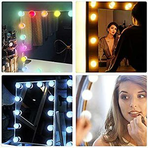 Makeup Vanity Mirror Light Kit (White and RGB light) for Sale in Rancho Cucamonga, CA