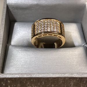 Unisex 👰 😍🤵 18K Gold plated Engagement 💍Ring for Sale in Dallas, TX