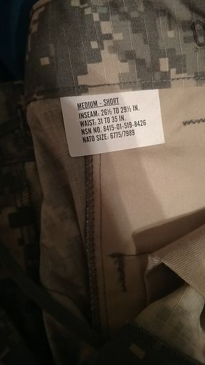 New ACU pants for Sale in Appomattox, VA