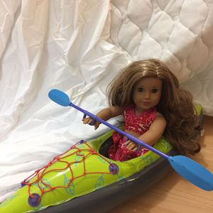 American Girl Kayak And Swimsuit for Sale in Portsmouth, VA