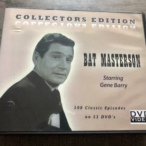 Used & Working Collectors Edition Bat Materson Starring Gene Barry (11 DVDs, 108 classic Episodes) for Sale in Pinellas Park, FL