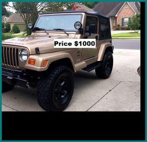 ֆ1OOO Jeep Wrangler for Sale in Fort Worth, TX