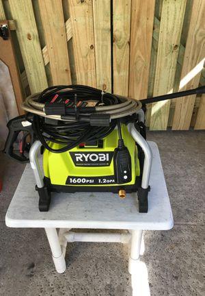 RYOBI PRESSURE WASHER. NEW 1600 PSI for Sale in Palm Beach Gardens, FL