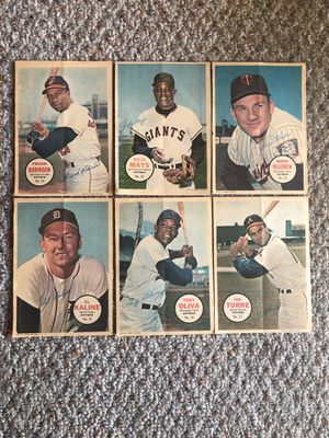 Baseball Card Inserts - 1967 Topps Pinups for Sale in Princeton, NJ