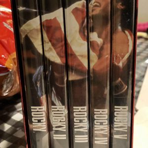 ROCKY 1-5 Collection In GREAT COND $15 Firm ! for Sale in Merced, CA