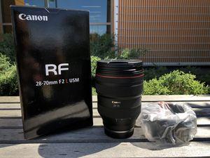 Super lenses Canon 28-70mm f/2 L USM for Sale in Montgomery, IL