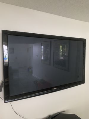 Panasonic huge TV Viera model in excellent condition for Sale in Miami, FL