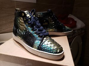 Christian Louboutin mens red bottoms for Sale in Dallas, TX