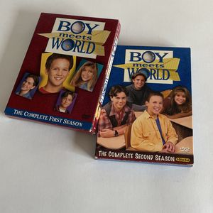 Boy Meets World Season 1 & 2 for Sale in Carlsbad, CA