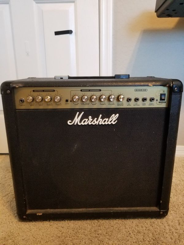 Marshall G50r Cd Amp For Sale In Queen Creek  Az