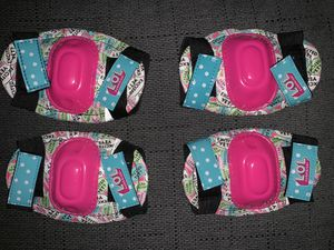 Lol doll surprise knee and elbow pads for Sale in Tampa, FL