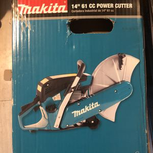 Makita Cement Cutter 61cc 14inch for Sale in Providence, RI