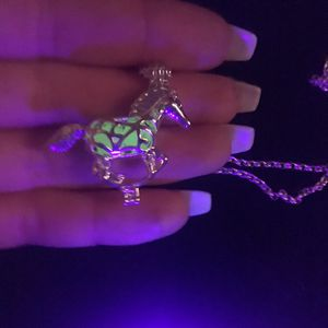 Glow In The Dark Horse Necklace. for Sale in Denver, CO