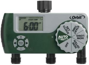 NEW in Sealed Box Orbit 3-port automatic hose faucet timer for Sale in Seattle, WA