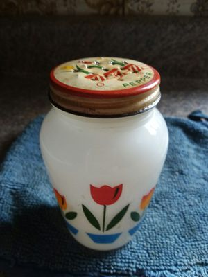 Vintage Fire King Tulip Pepper Shaker for Sale in Elma, WA