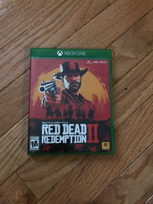 Red dead xbox one for Sale in Andover, MA