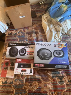 Car speakers and Bluetooth car stereo for Sale in Woodbridge, VA