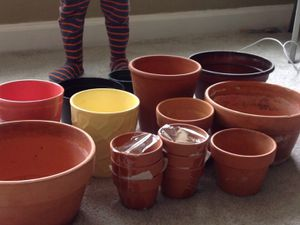 Flower pot lot for Sale in Silver Spring, MD