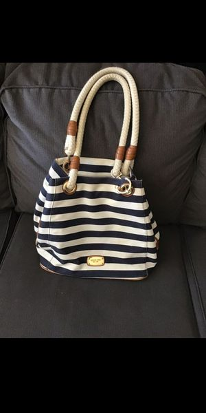 MK blue and white tote bag for Sale in Chula Vista, CA