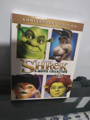 Shrek 4 Movie Collection Anniversary Edition Bluray for Sale in Santa Fe Springs, CA