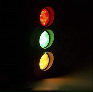 Niuyao Remote Control Traffic Light Retro Industrial Wall Lamp with Remote Control #C72 for Sale in Hesperia, CA