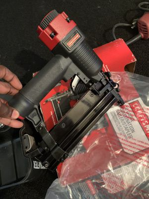 New craftsman comb nail/staple gun for Sale in Kinston, NC