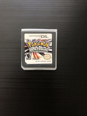 Pokemon Platinum Version Nintendo DS, 2009 Tested,Works Great,Great Gift! for Sale in Pembroke Pines, FL