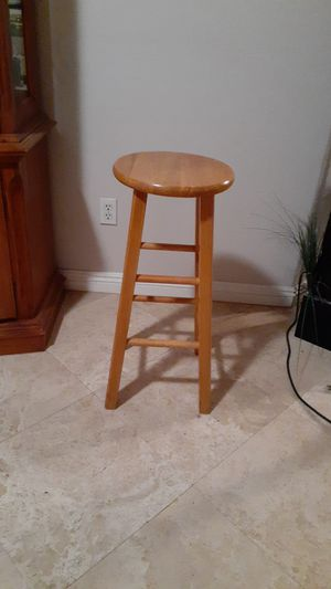 Wooden Bar Stool for Sale in Victorville, CA