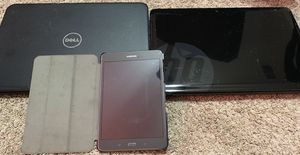 Used older laptops and tablet - HP, Dell , Samsung for Sale in San Antonio, TX