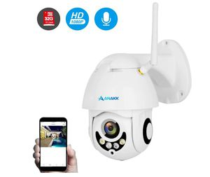 Anakk Outdoor Wireless WiFi Security Camera Pan Tilt HD 1080P IP Camera with Night Vision Motion Detection 3.6mm Lens IP66 Weatherproof for Home for Sale in Rancho Cucamonga, CA
