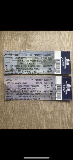 Drake Tickets Nov. 14 for Sale in Miami, FL