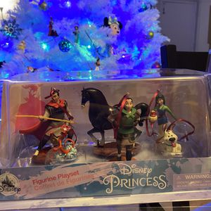 6 Piece Ornament Set Disney Mulan for Sale in San Diego, CA