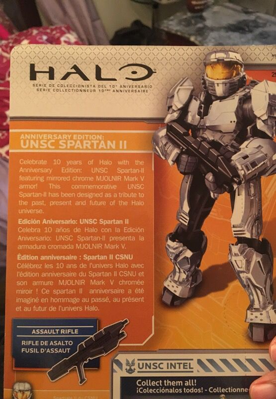 Rare halo anniversary addition collectible toy