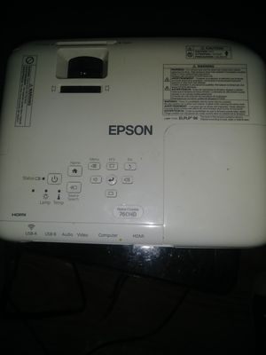 Epson Home Cinema 720HD projector for Sale in Midland, TX
