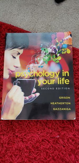 Psychology in your life 2nd edition for Sale in Keller, TX