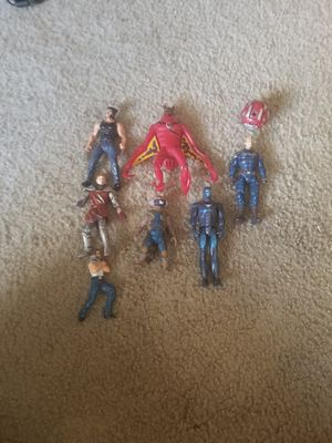 Random 3.75 action figures (Marvel, Narnia, Ben 10, Bakugan) for Sale in South Elgin, IL