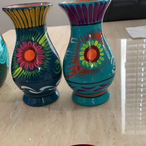 6 Inches Talavera Flower Vase for Sale in San Diego, CA