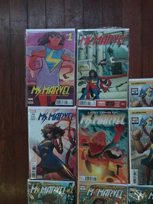 Marvel Comics Ms Marvel for Sale in San Pablo, CA